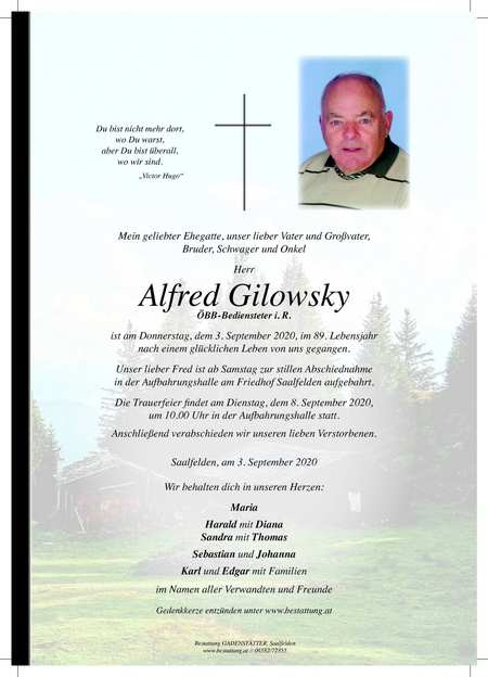 Alfred Gilowsky